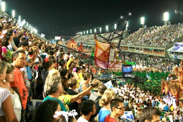 Stadium procession